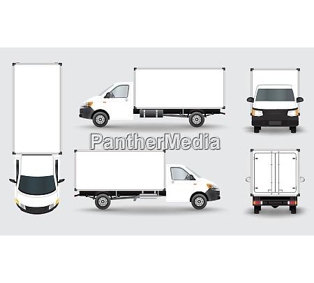 cargo truck van