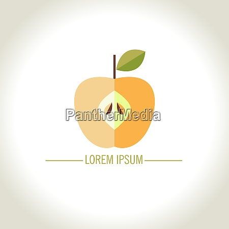 logotipo vectorial de apple