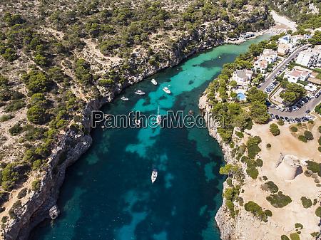 spain balearic islands mallorca llucmajor aerial