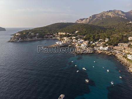 spain balearic islands mallorca aerial view