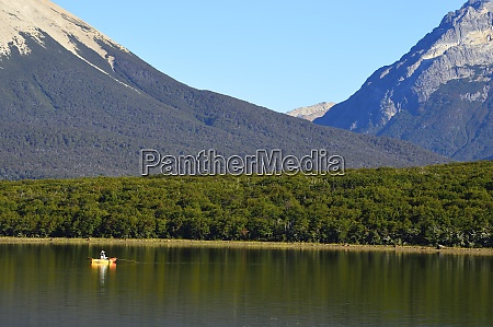 scenic landscape with mountains and a