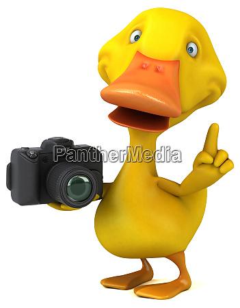 divertido, pato-3d, ilustración - 26414497
