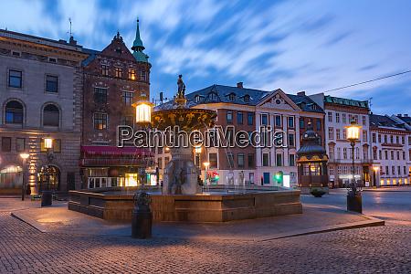 gammeltorv or old market copenhagen denmark