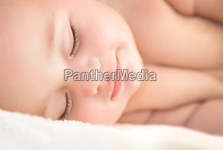 dulce bebe durmiendo