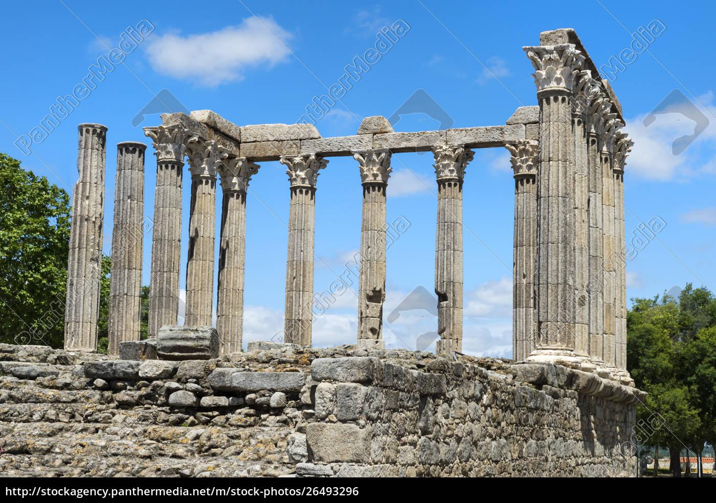templo, romano, de, diana, patrimonio, mundial, de - 26493296