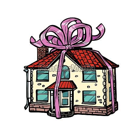 regalo de la casa bienes raices