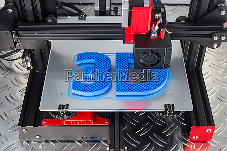 rojo negro impresora 3d impresion simbolo