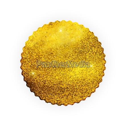 premium calidad brillante etiqueta de oro