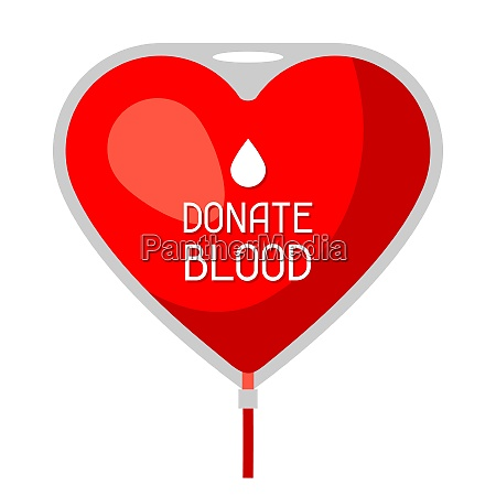 donate blood medical and healthcare concept