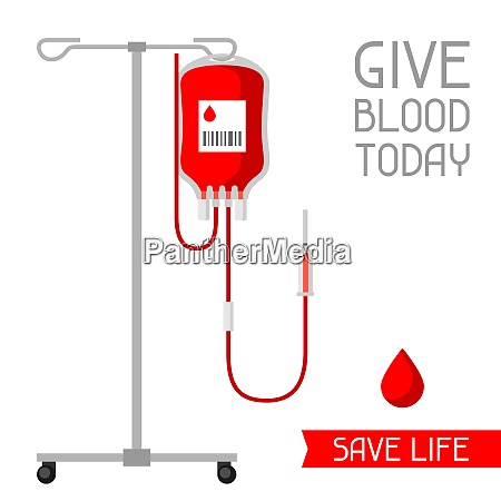 give blood today save life medical