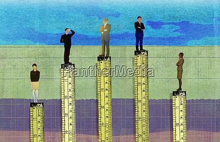 empresarios mas altos que las empresarias