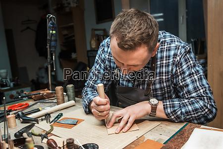 concepto de fabricacion artesanal de articulos