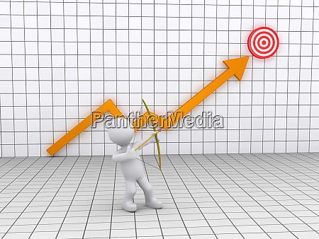 archer apuntando a un objetivo y