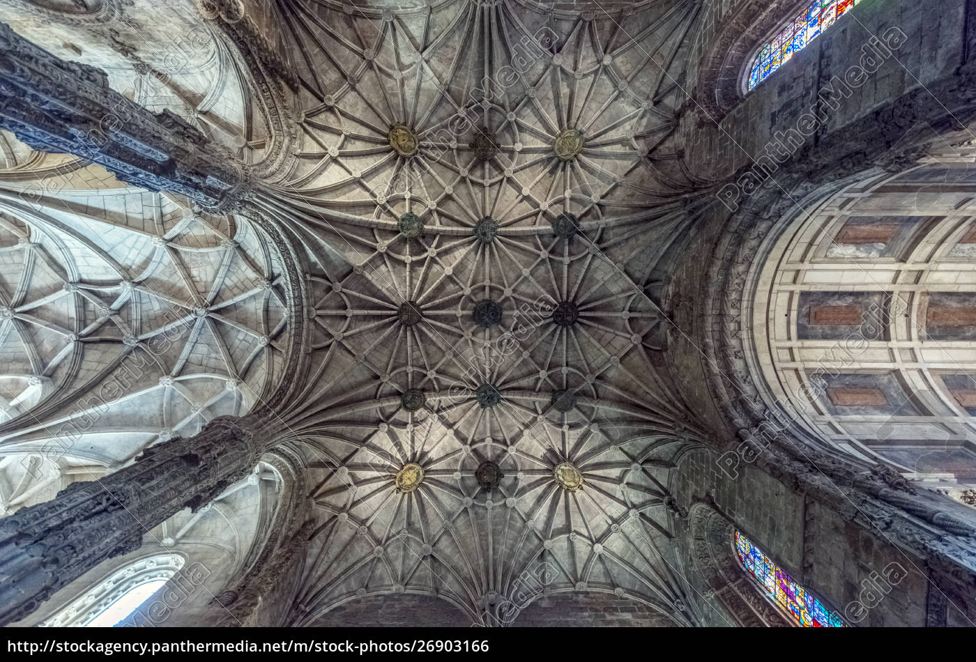 low, angle, view, of, ornate, ceiling - 26903166