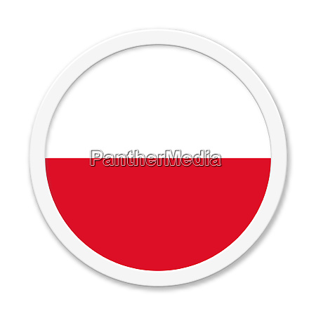 poland or polish round button