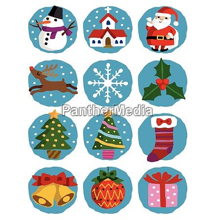 ilustraciones navidenyas santa claus arbol de