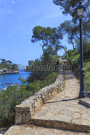 spain balearic islands mallorca santanyi cala