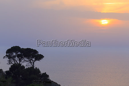 spain balearic islands mallorca sunset