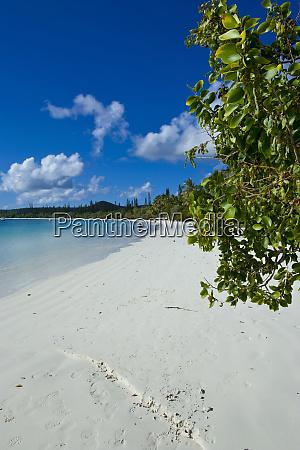 playa de arena blanca bay de