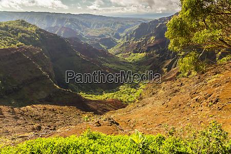 estados unidos hawai kauai paisaje del