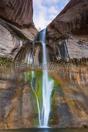 usa utah calf creek falls escalante