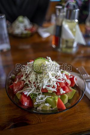 ensalada shopska ensalada tradicional de verano
