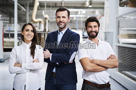retrato de hombre de negocios y