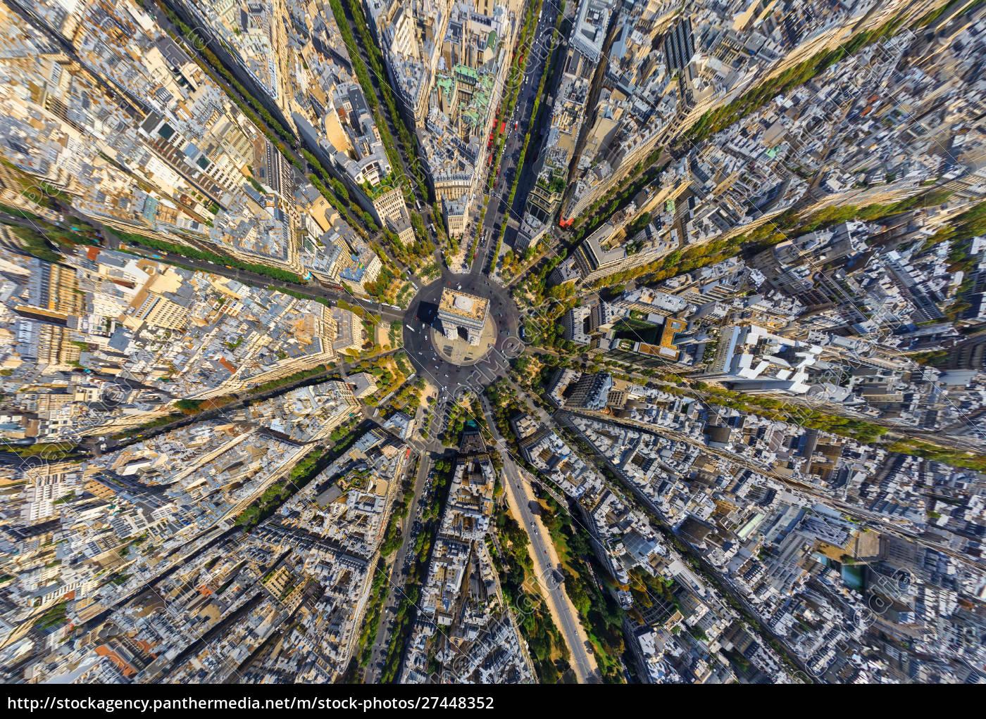 vista, aérea, sobre, el, arco, del - 27448352