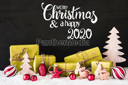 snow gift tree ball merry christmas