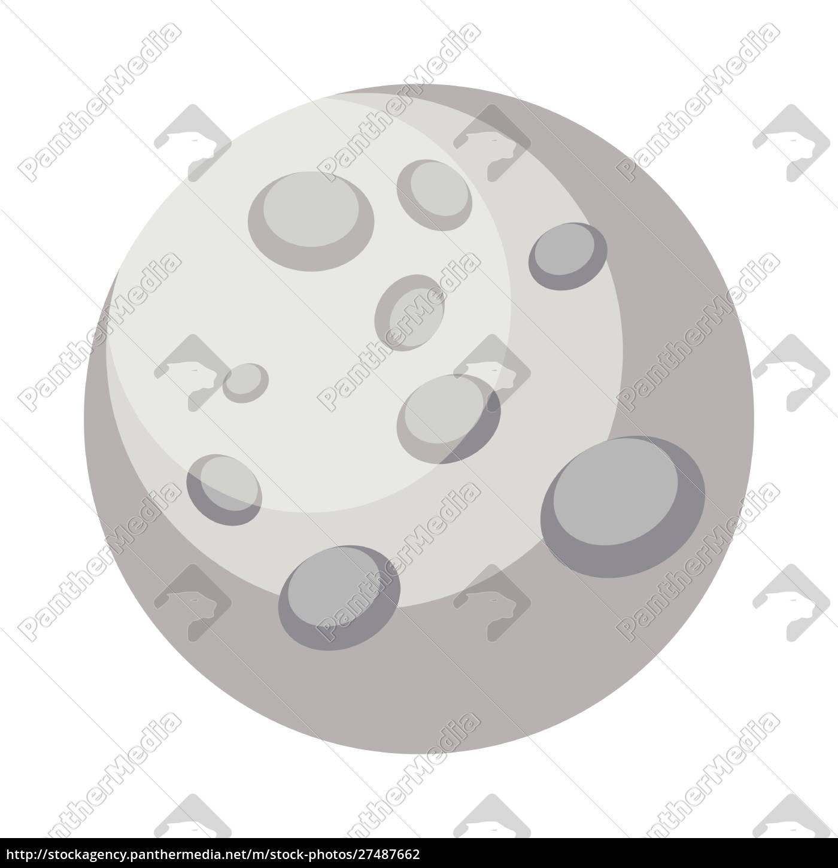 ilustración, vectorial, de, diseño, mercury, simple - 27487662
