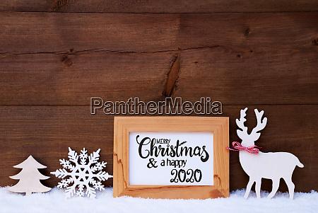 deer snowflake snow tree merry christmas