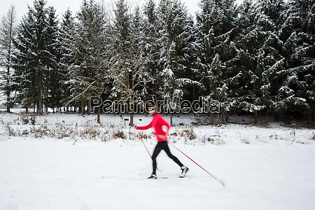 esqui de fondo esqui de fondo