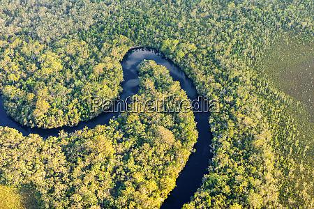 vista aerea del rio noosa parque