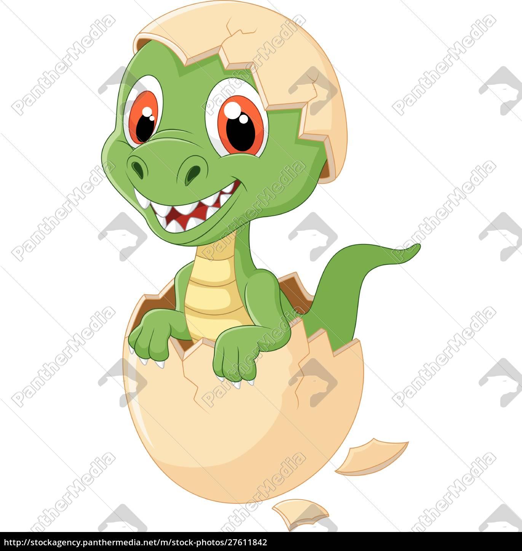 Lindo Dinosaurio Dibujos Animados Eclosion Stockphoto 27611842 Agencia De Stock Panthermedia Dinosaurios descubre aquí fotos e imágenes de【dinosaurios】listas para descargar¡seguro que te gustarán! vector libre de derechos 27611842 lindo dinosaurio dibujos