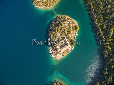 vista aerea del monasterio de santa