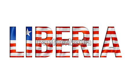 fuente de texto de la bandera