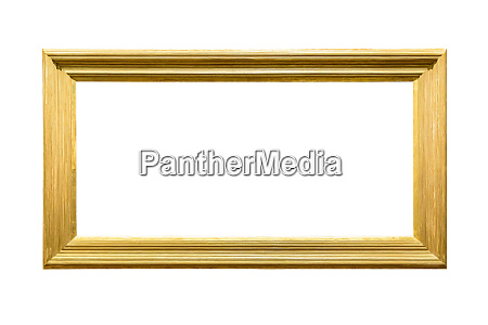 landscape golden decorative picture frame on