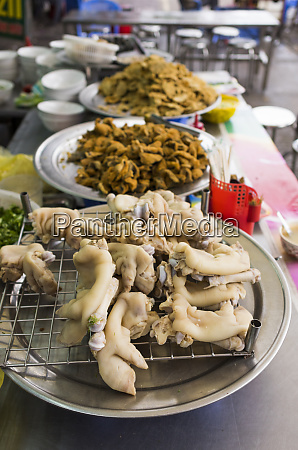 vietnam haiphong comida callejera puesto de