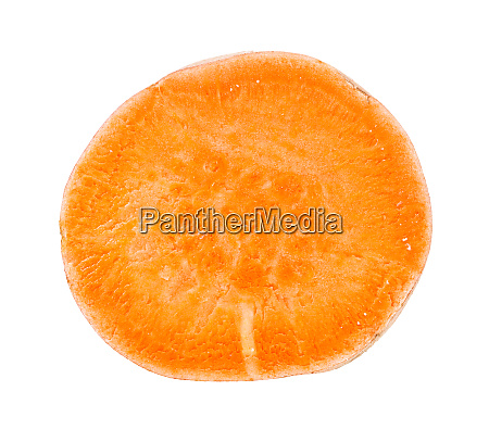 orange pulp of sweet potato batata