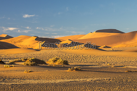 africa namibia sossusvlei dunes in the
