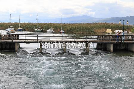 macedonia lago ohrid struga situado en
