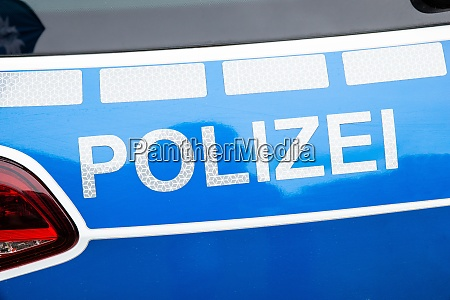 coche de la policia alemana