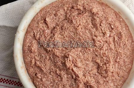 minced, pork, and, lard, texture, , full - 27962561