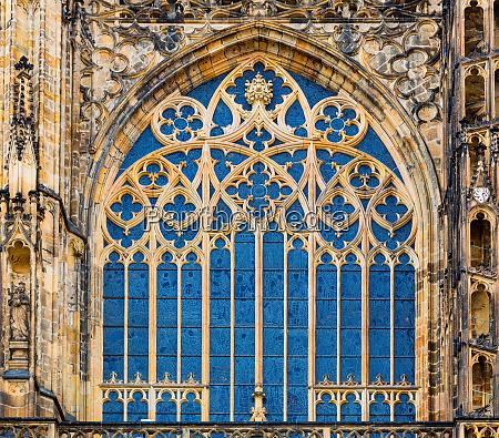 building, facade, with, blue, window, , european - 28083762