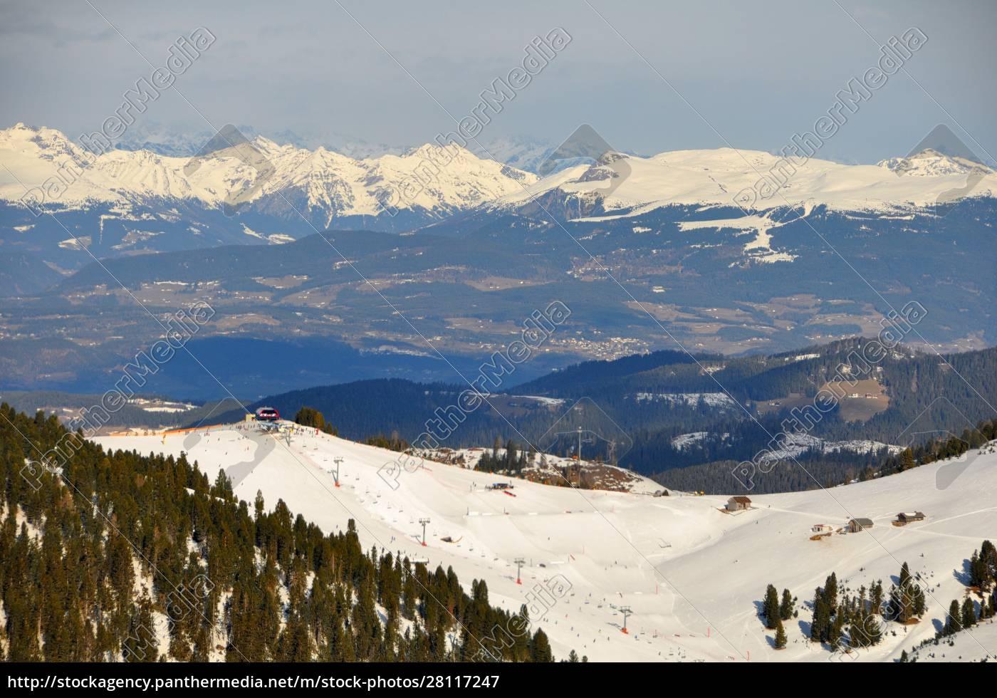 esquí, ensouthern, tirol - 28117247