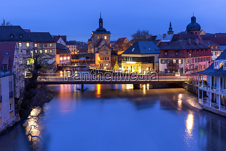 old town of bamberg bavaria germany