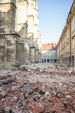 zagreb, golpeado, por, el, terremoto, dañado - 28229189