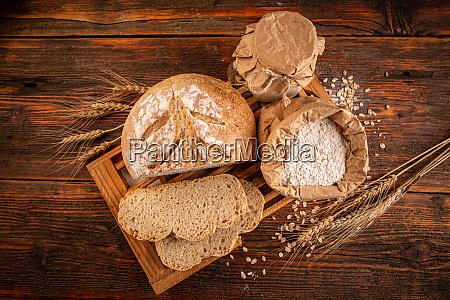 barra rustica de pan