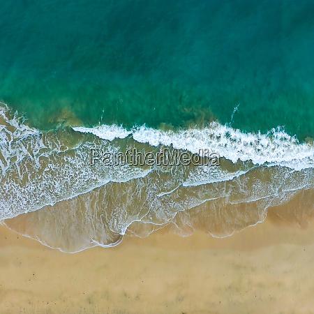 vista aerea de una playa fuerteventura