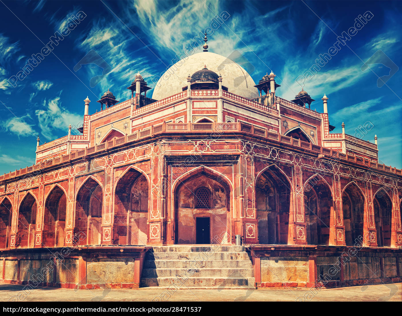 humayun's, tomb., delhi, , india - 28471537